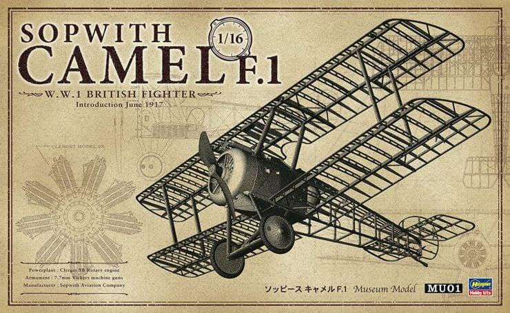 Hasegawa 1-16 Scale Sopwith Camel Box