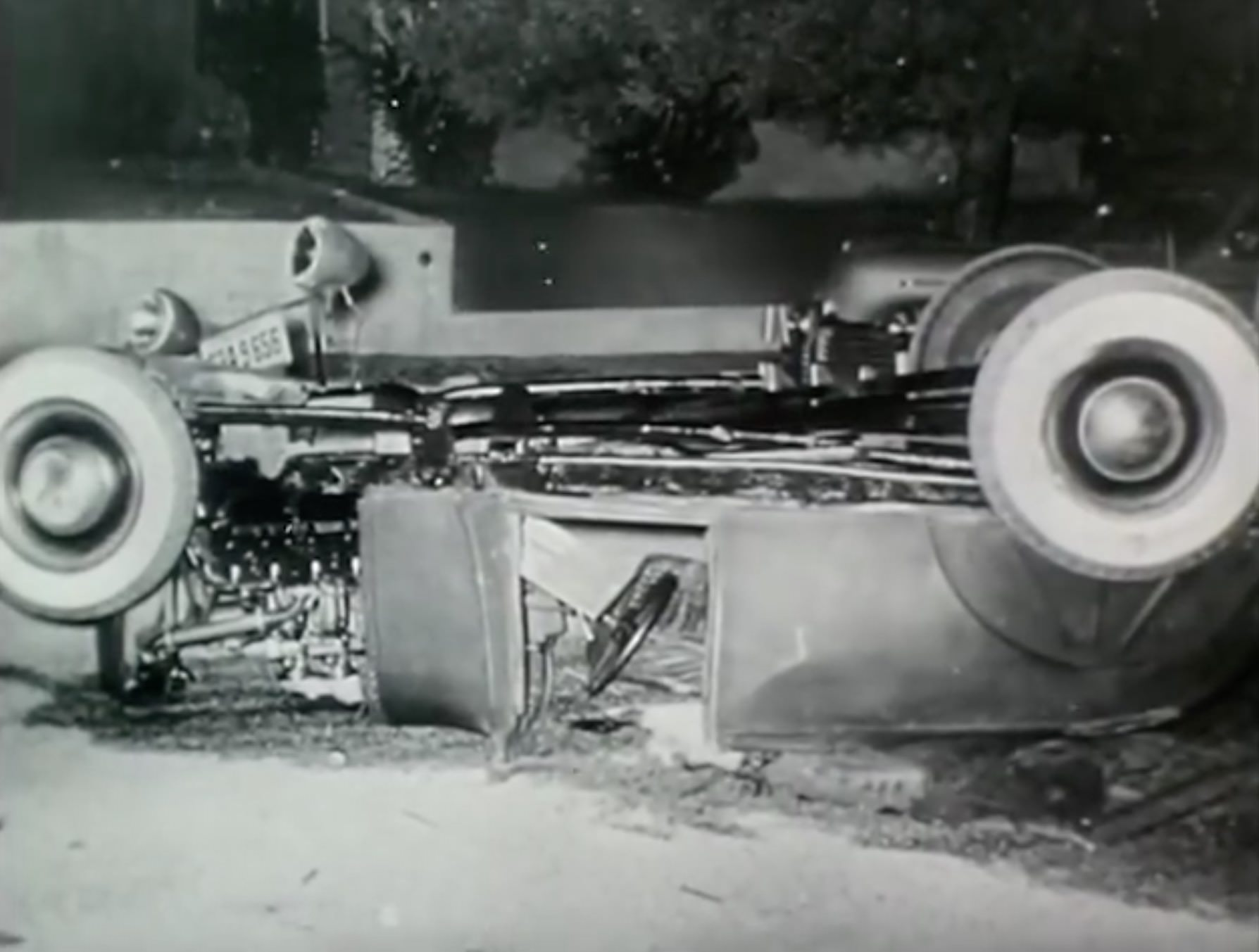 Hot Rod Crash