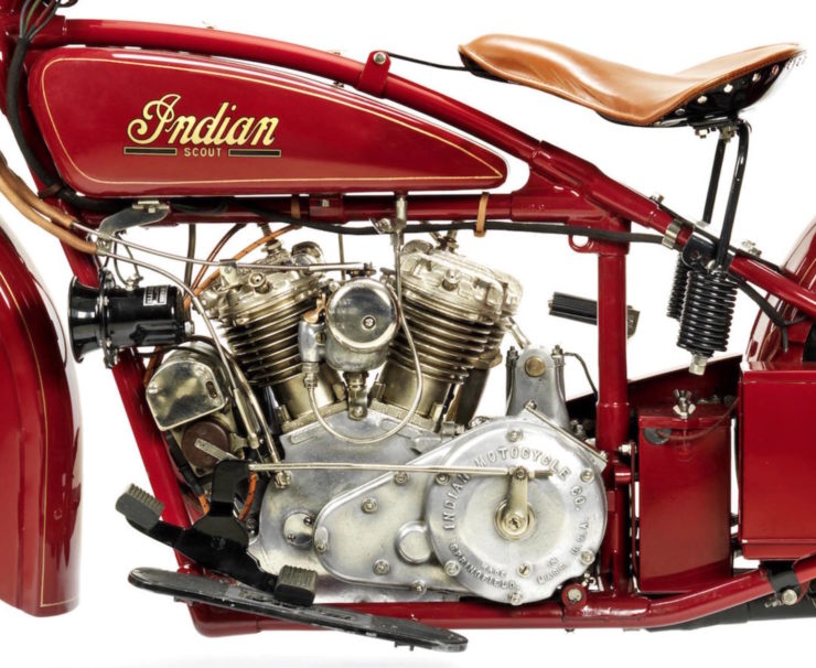 Indian 101 Scout Engine