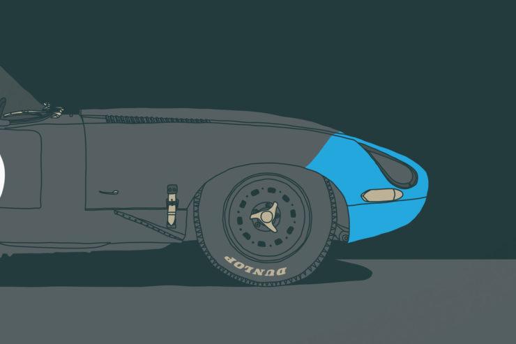 Jaguar E-Type Lightweight 1