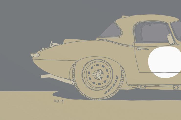 Jaguar E-Type Lightweight 3