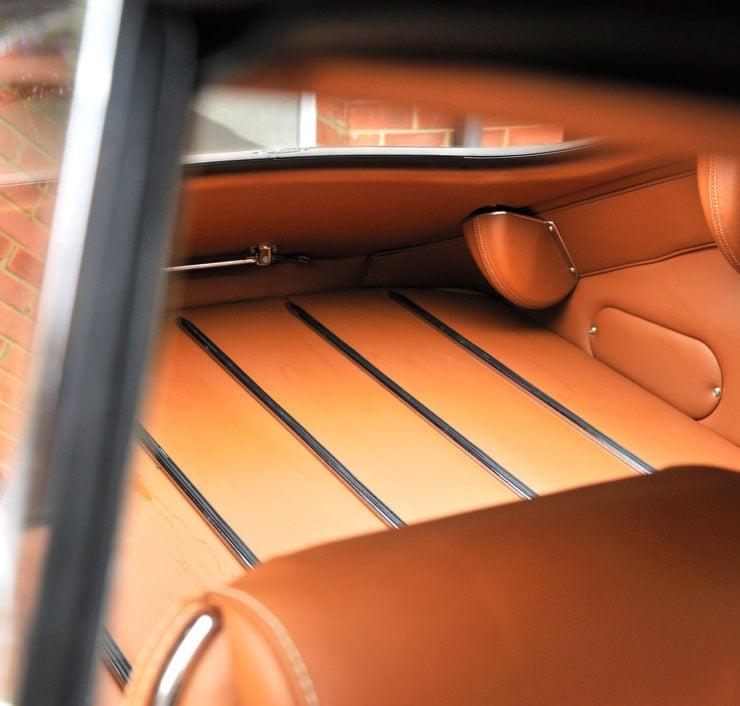 Jaguar XKE Series 1 interior hinge shields