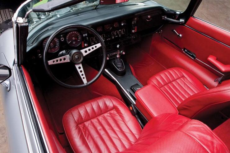 Jaguar XKE Series Three interior
