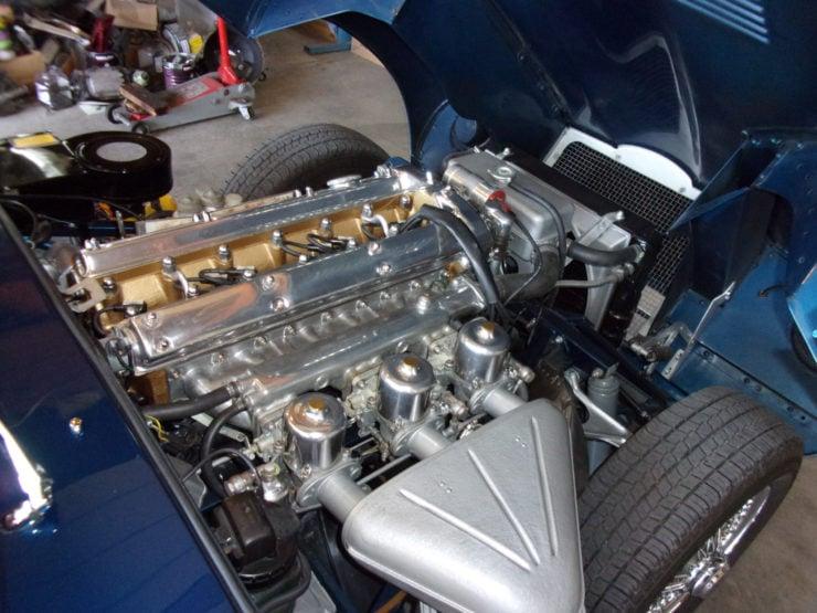 Jaguar XKE four point two litre engine