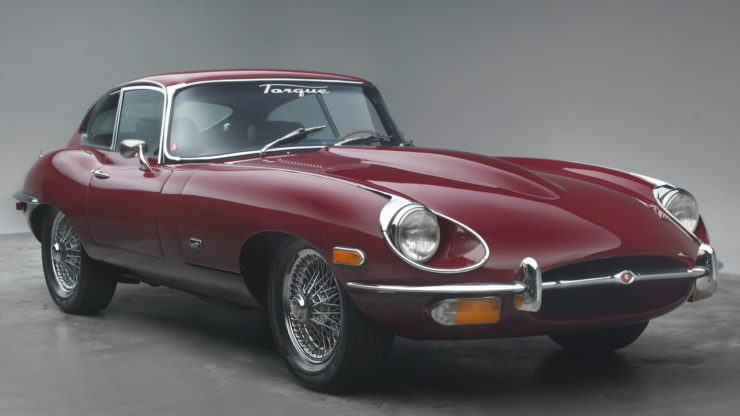 Jaguar XKE Series Two coupe