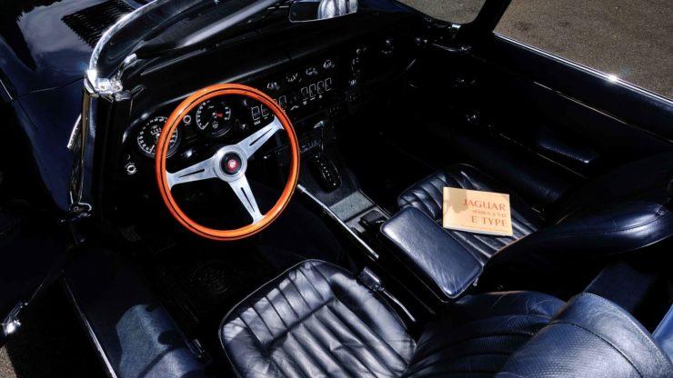 Jaguar XKE Series Three automatic transmission roadster
