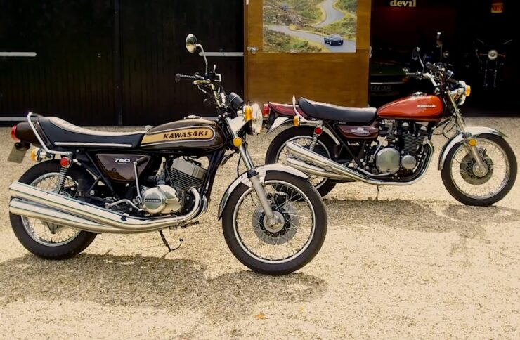 Kawasaki H2 Mach IV 750 Triple 4