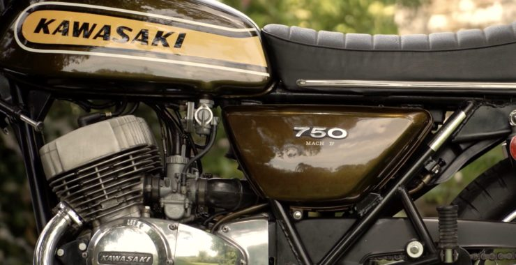 Kawasaki H2 Mach IV 750 Triple