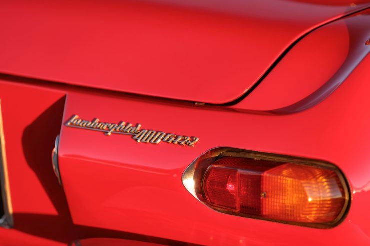 Lamborghini 400 GT 2+2 Badge