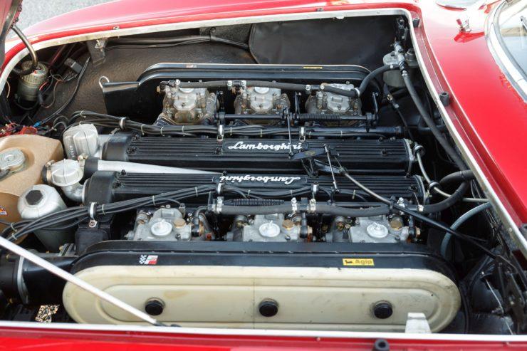 Lamborghini 400 GT 2+2 Engine
