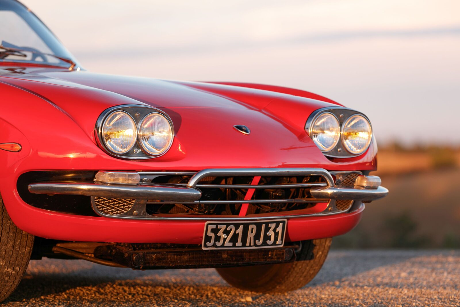 Lamborghini 400 GT 2+2 Headlights