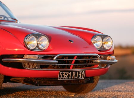 Lamborghini 400 GT 2+2 Headlights