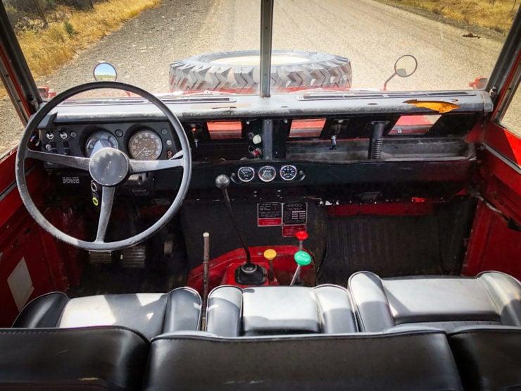 Land Rover Series 3 Dashboard