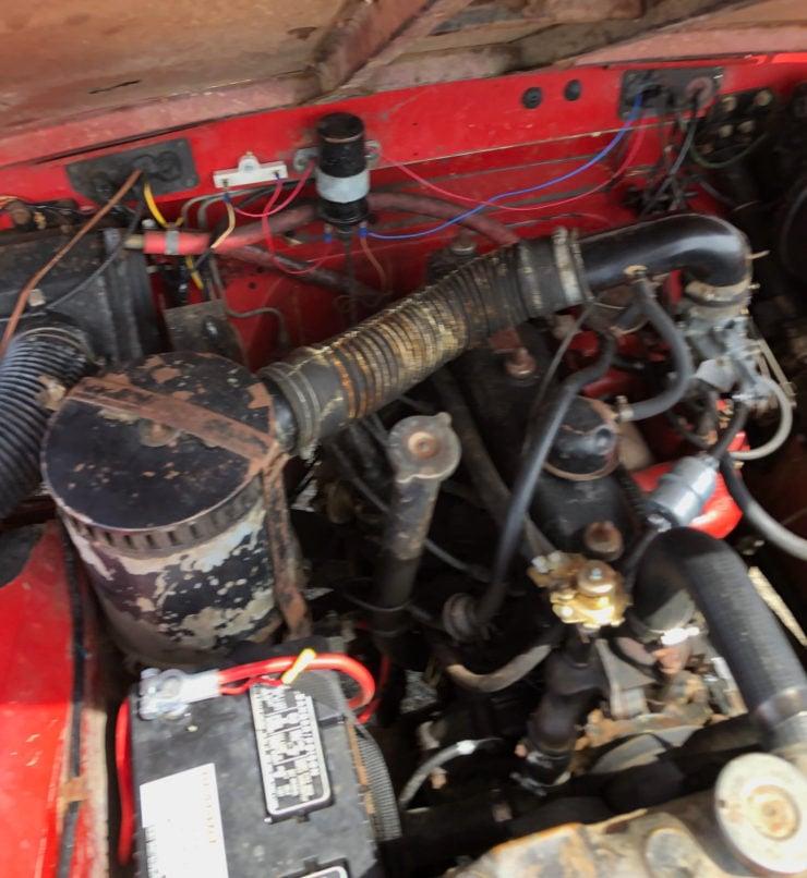 Land Rover Series 3 Engine 2
