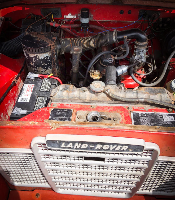 Land Rover Series 3 Engine