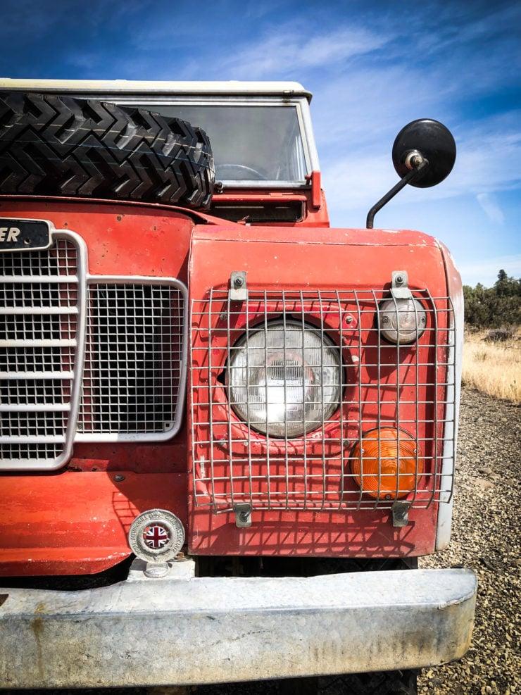 Land Rover Series 3 Headlight