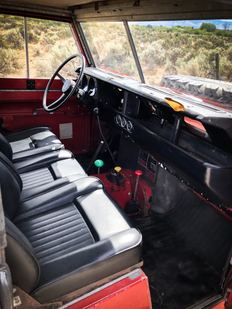 Land Rover Series 3 Interior