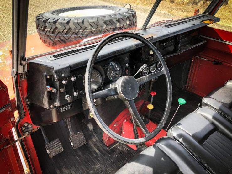 Land Rover Series 3 Steering Wheel