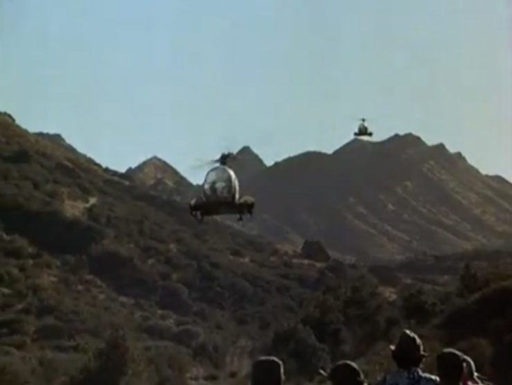 MASH TV Show Helicopter