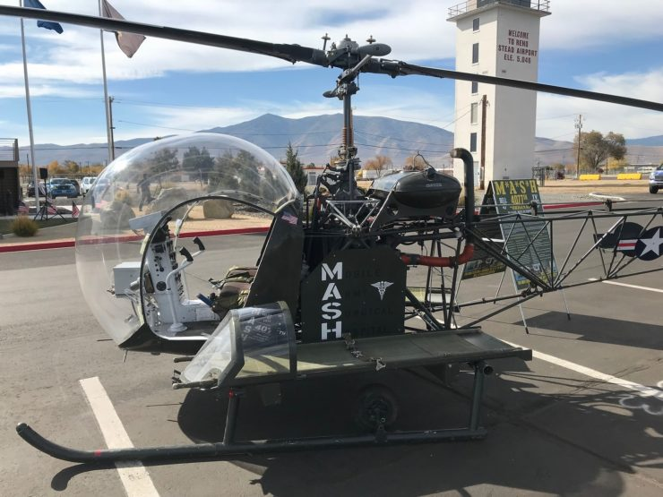 MASH TV Show Helicopter 9