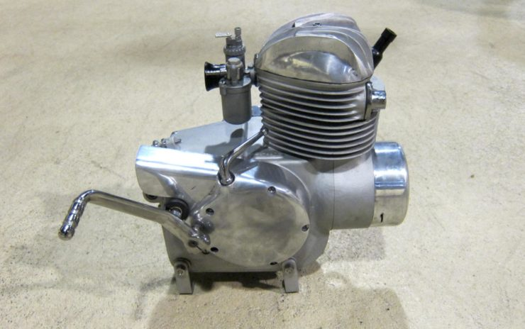 Mystery Motorcycle Engine Side