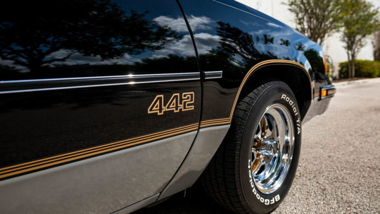 Oldsmobile 442 Decals