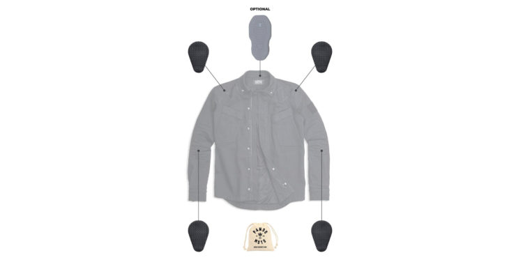 Pando Moto Capo Riding Shirt Armor