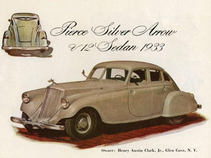 Pierce Arrow Car