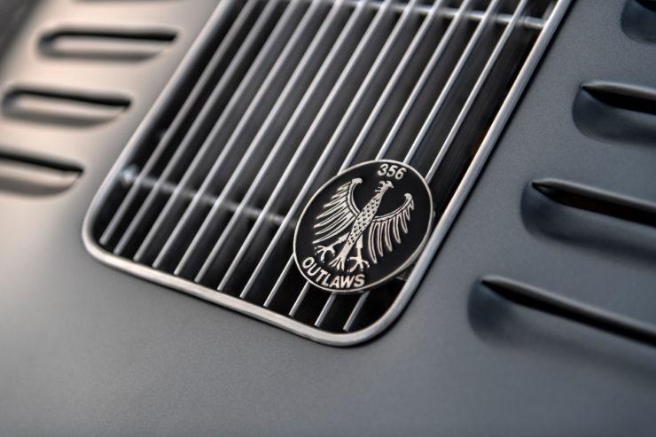 Porsche MOMO 356 RSR Outlaw Badge