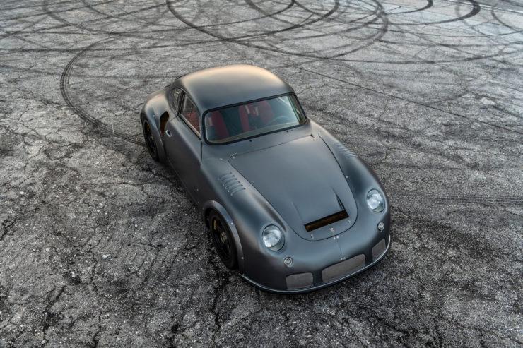 Porsche MOMO 356 RSR Outlaw Overhead