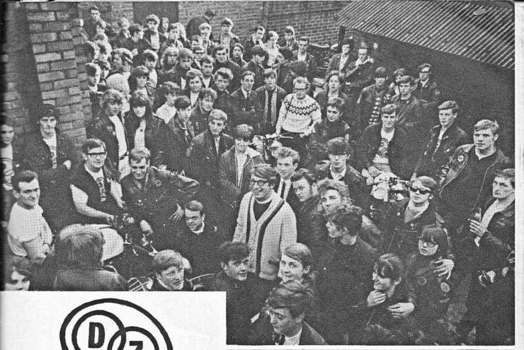 Rev David Collyer, 1966 - Centre