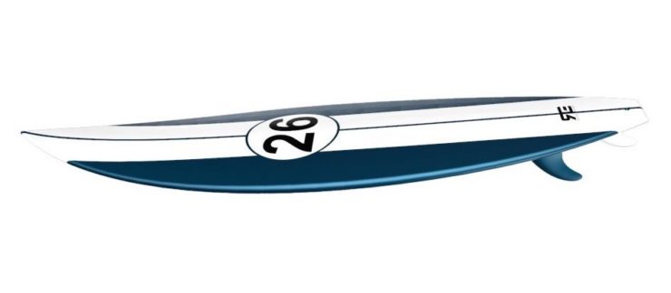 Shelby Livery Surfboard