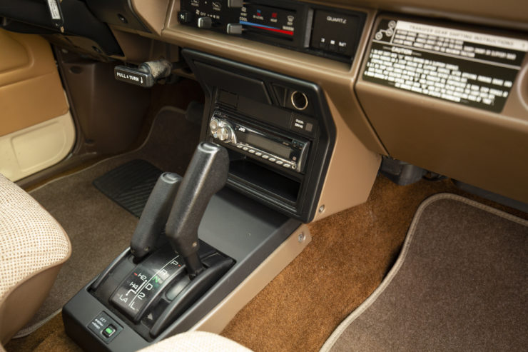 Toyota 4×4 Pickup HiLux Center Console