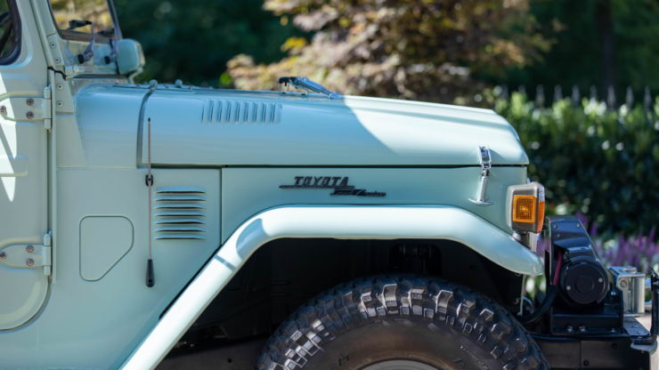 Toyota FJ45 Land Cruiser Pickup Hood