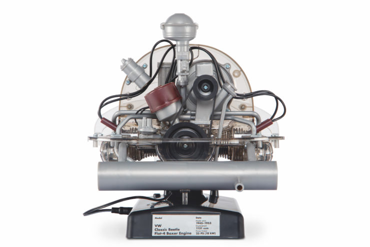 VW Beetle Flat-Four Boxer Engine Kit by Franzis Back