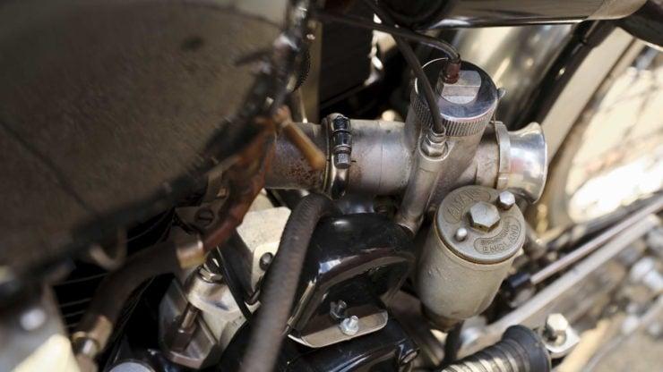 Vincent Black Lightning Carburettor