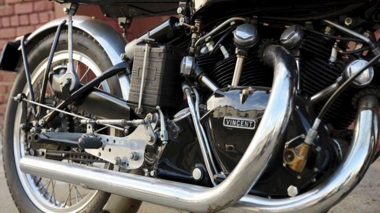 Vincent Black Lightning Engine