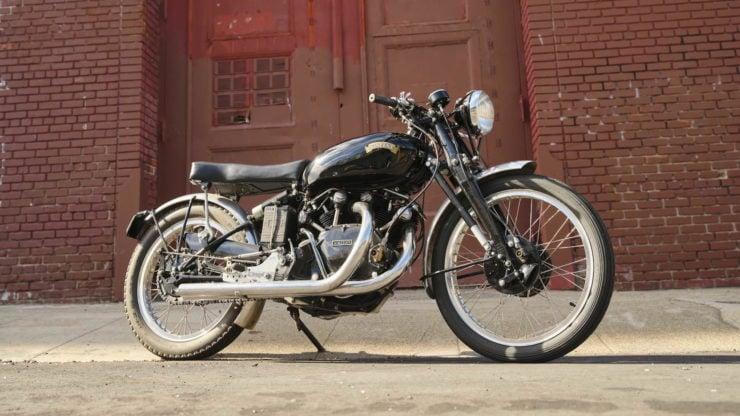Vincent Black Lightning Motorcycle