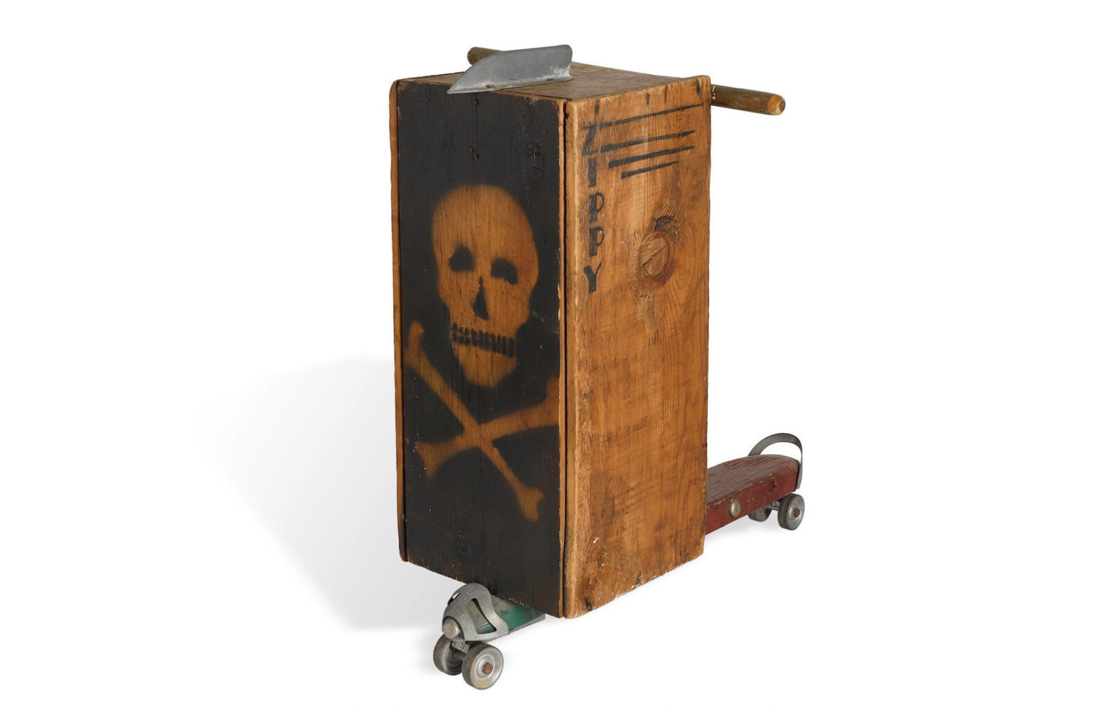 Vintage Crate Scooter