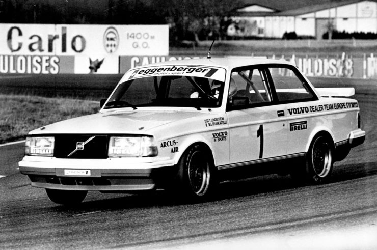 Volvo 240 Turbo in the European Touring Car Championship in 1985