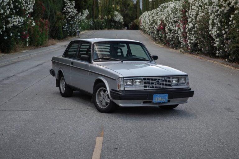 """A Rare 1983 Volvo 242 Group A Homologation """"Flathood"""" Turbo"""