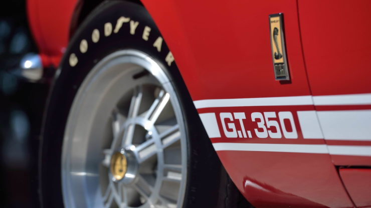 1967 Shelby GT350 Badge