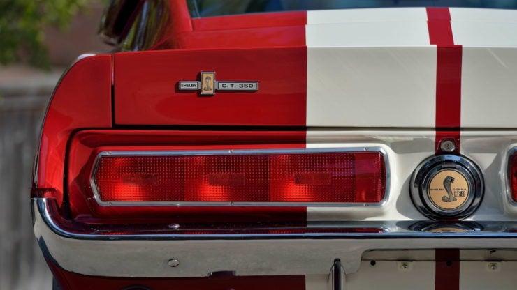 1967 Shelby GT350 Brake Lights