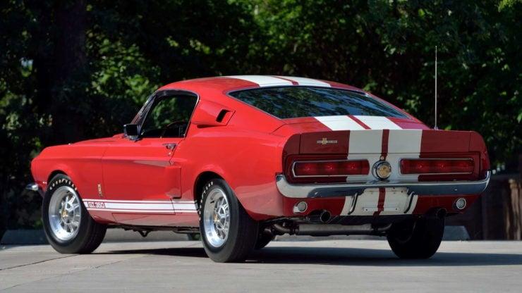 1967 Shelby GT350 Rear