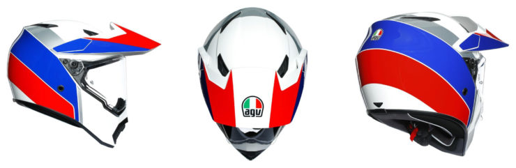 AGV AX9 Ocean Helmet Collage