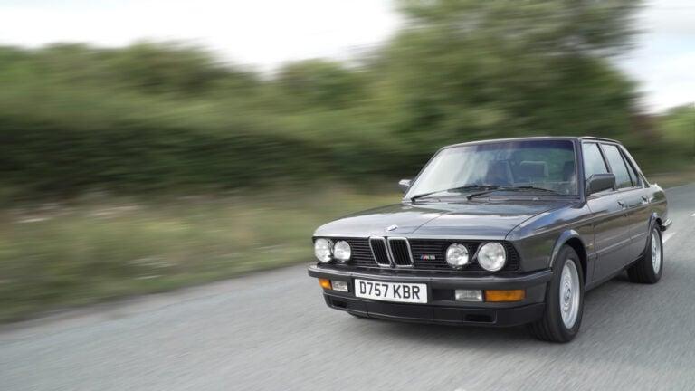 E28 M5 - The Bodyguard's BMW