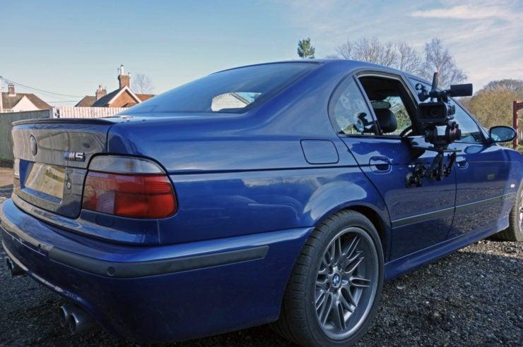 BMW M5 Camera Car