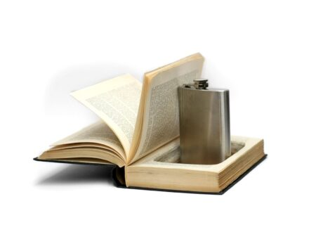 Book With A Hidden Flask