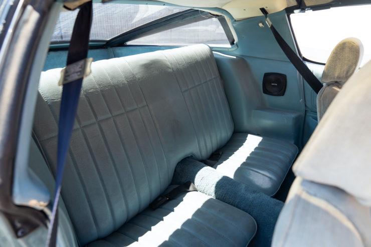 Chevrolet Camaro Europo Hurst Frua Back Seats