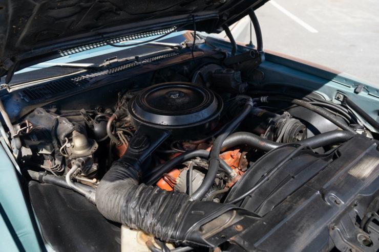 Chevrolet Camaro Europo Hurst Frua Engine